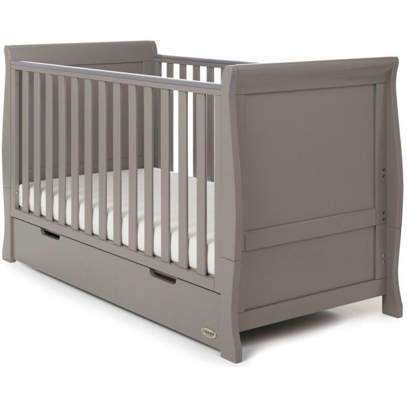 Stamford Classic Cot Bed - Taupe Grey
