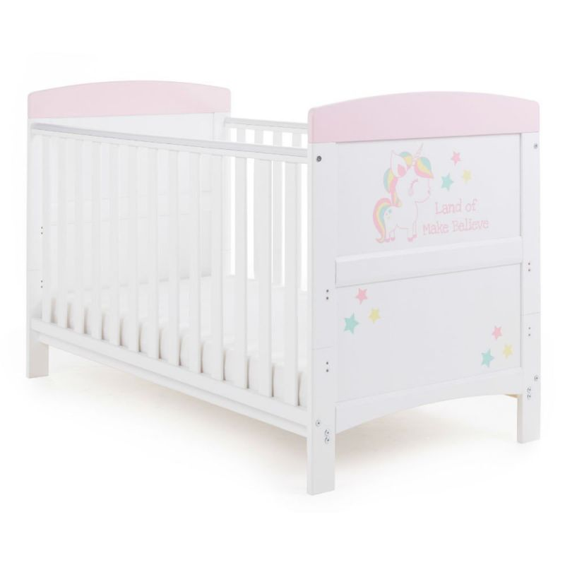 Grace Inspired Cot Bed - Unicorn