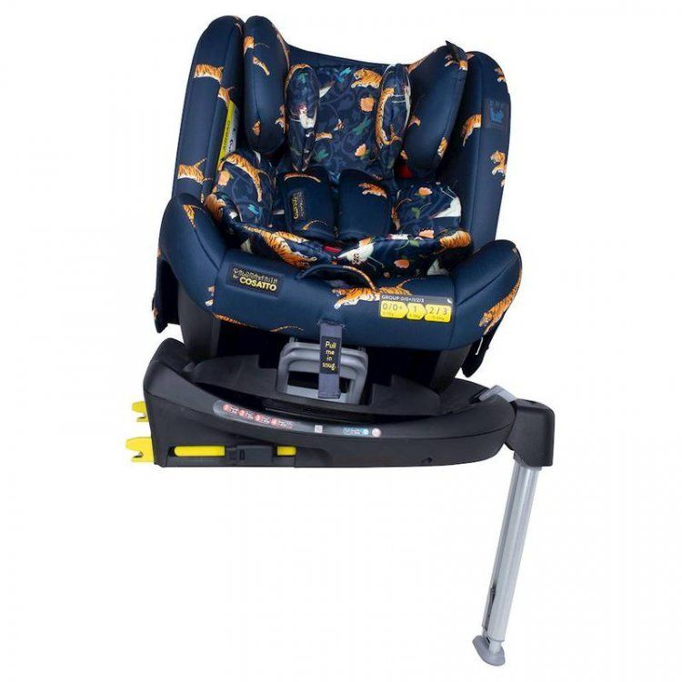 Paloma All In All Rotate Group 0+123 Car Seat - On The Prowl